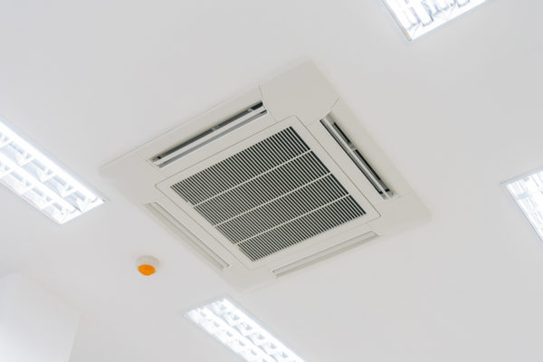Cassette type air conditioning